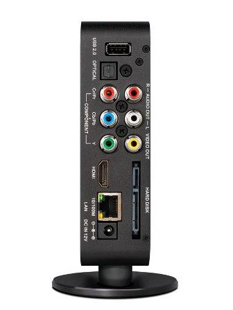 Dune HD Lite 53D - задняя панель