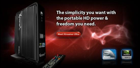 Xtreamer Ultra – мультимедийный неттоп