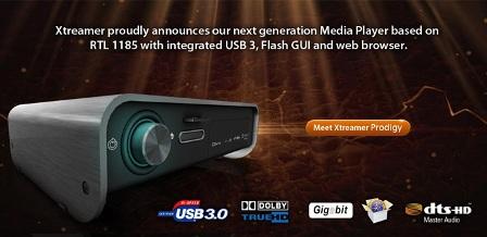 Xtreamer Prodigy – новый домашний Full HD медиаплеер
