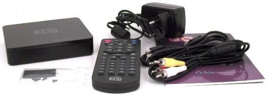 Комплект поставки медиаплеера 3Q Q-bix F260HW