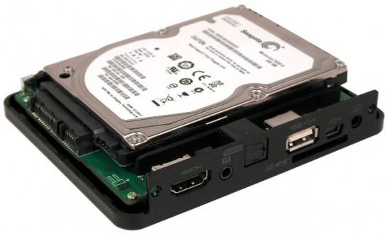 Медиаплеер 3Q Q-bix F260HW с установленным HDD