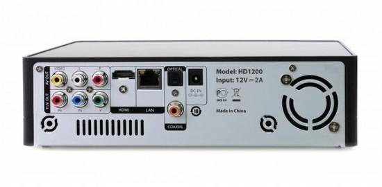 Задняя панель Gmini MagicBox HD1200