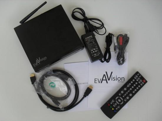 Комплектация медиаплеера BlueTimes Eva Vision