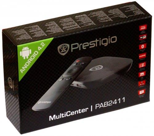 Обзор медиаплеера Prestigio MultiCenter Box