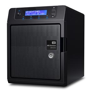 WD Sentinel DX4200 - новое сетевое хранилище NAS
