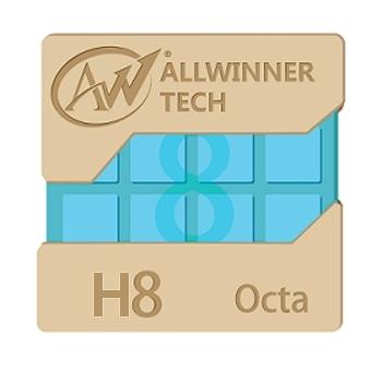 Восьмиядерный чип Allwinner H8