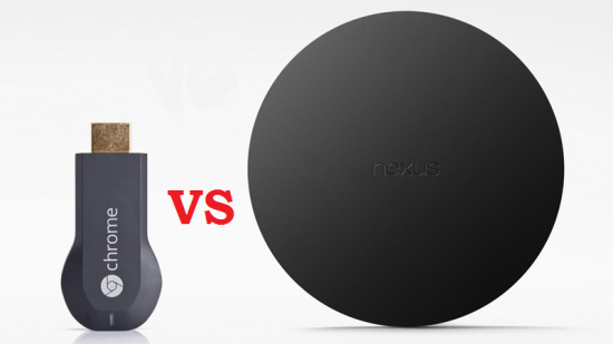 Chromecast против Google Nexus Player