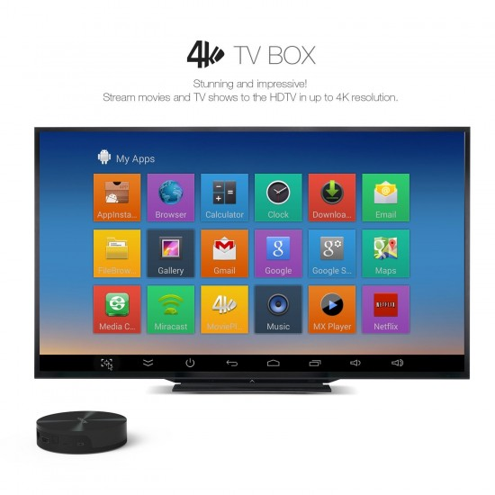 Aukey Amlogic S82 - новый Android TV Box