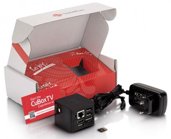 CuBoxTV - компактный медиацентр на базе OpenELEC и XBMC