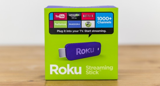 Roku 3500R Streaming Stick в коробке