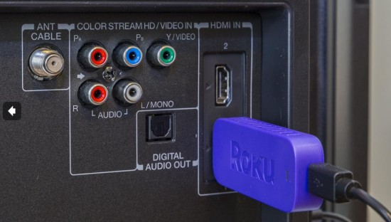 Roku 3500R Streaming Stick on