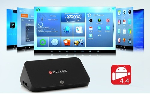 Android TV Box Ubox 4K