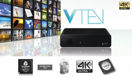Popcorn Hour VTEN - новый медиаплеер с 4K HEVC