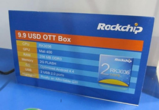 Rockchip представил новую платформу для Android TV Box стоимостью всего 10$