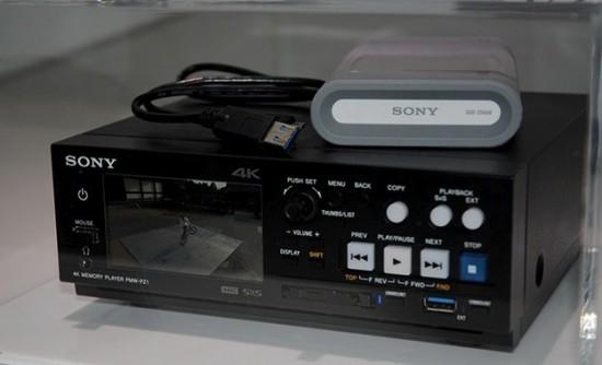 Профессиональный медиаплеер Sony PMW-PZ1