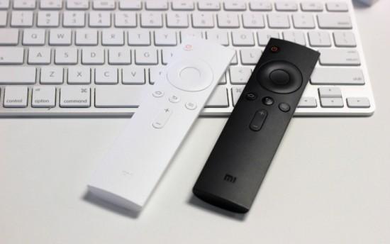 Медиаплеер Xiaomi Mi Box Mini комплектуется пультом ДУ