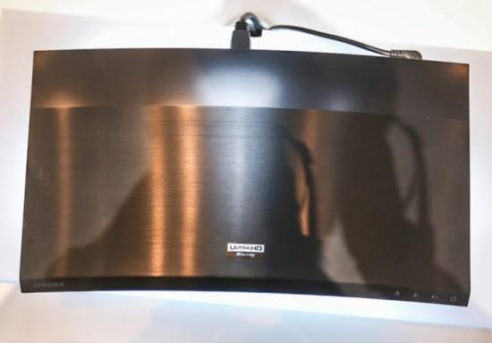 Первый проигрыватель Ultra HD Blu-ray от компании Samsung