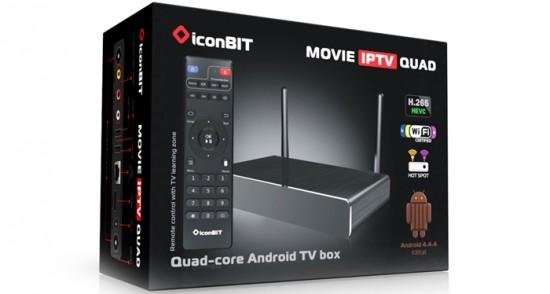 Технические характеристики iconBIT Movie IPTV QUAD