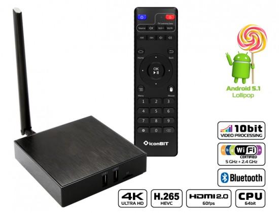 iconBIT XDS94K - новый флагманский медиаплеер с поддержкой 4K-видео