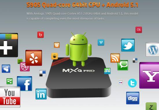 NEXBOX MXQ PRO TV Box
