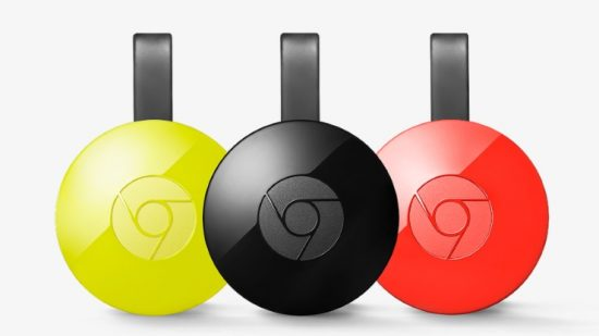 ТВ-приставка Google Chromecast 2015 2nd edition