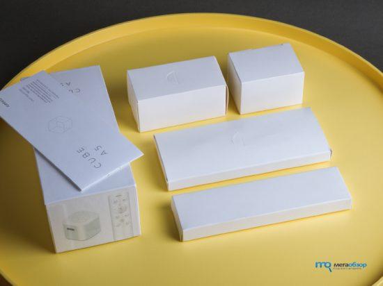 Комплектация Rombica Cube A5