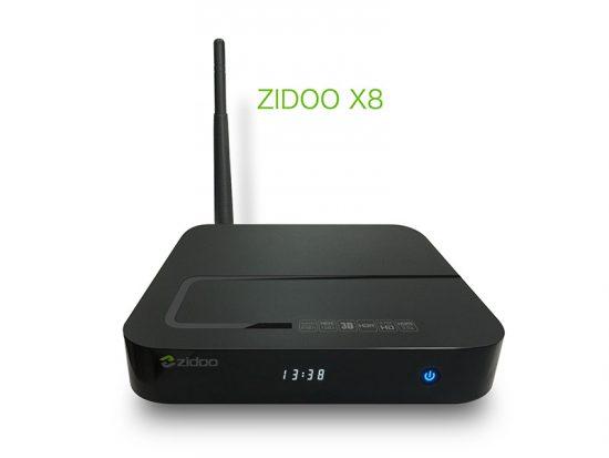 ТВ приставка Zidoo X8