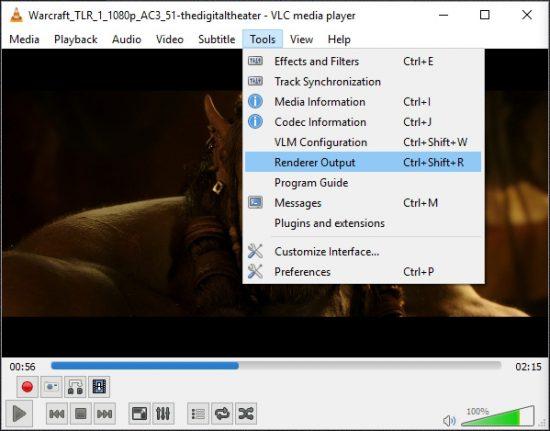Новая версия плеера VLC 3.0 получила поддержку Chromecast