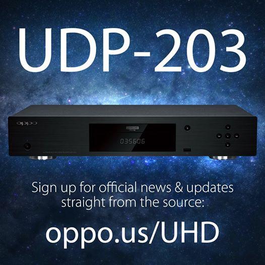 Oppo выпустит первый плеер Ultra HD Blu-Ray в этом году Oppo udp-203