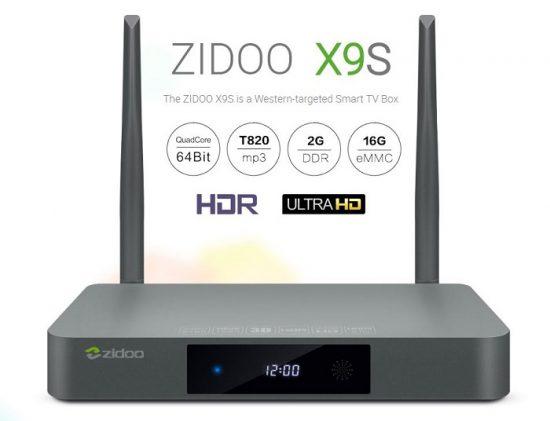 Новая прошивка для ZIDOO X9S