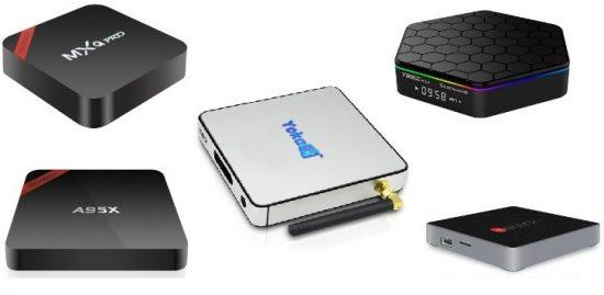 ТОП 5 TV BOX на Amlogic S905, S905X, S912 на Gearbest.com