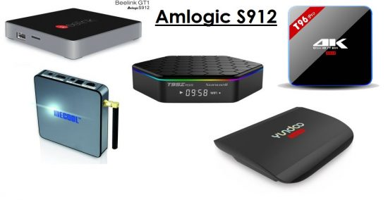 Top 5 TV BOX с Amlogic S912 за ноябрь 2016