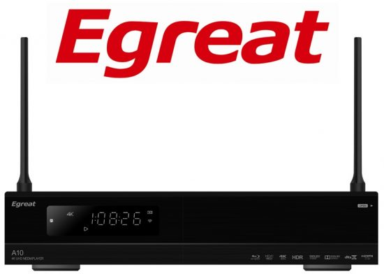 ТВ-приставка Egreat A10