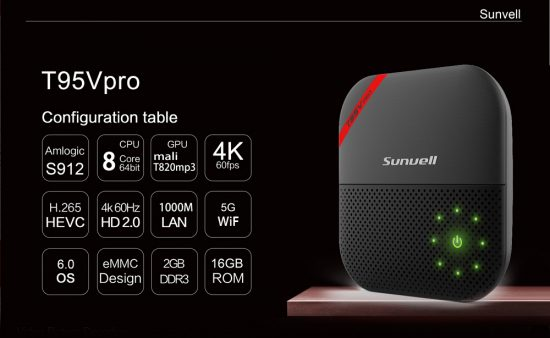 Sunvell T95V PRO