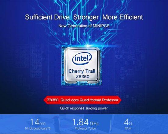 Intel® Atom™ x5-Z8350