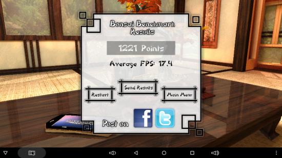 Bonsai benchmark