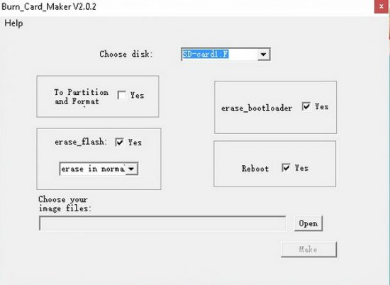 Amlogic Burn Card Maker v2.0.2