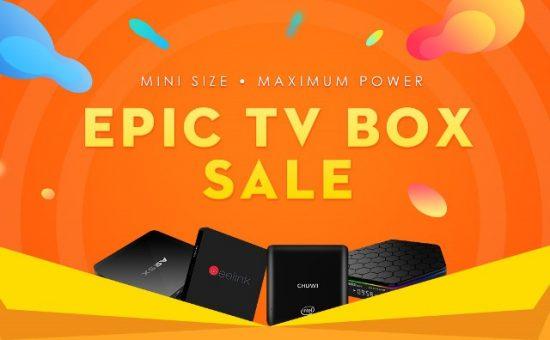 EPIC TV BOX SALE