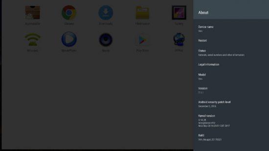 Khadas Vim Android-7.1
