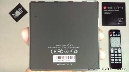 Обзор TV Box Beelink GT1 Ultimate
