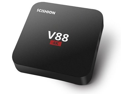 SCISHION V88 TV BoxSCISHION V88 TV Box Rockchip 3229 Quad Core