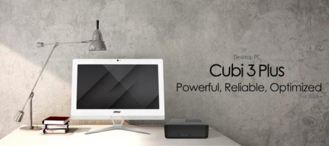 MSI Cubi 3 Plus