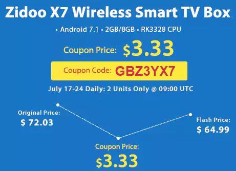 Купить Zidoo X7