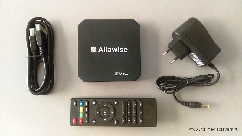 Обзор ТВ Бокса Alfawise Z28 PRO