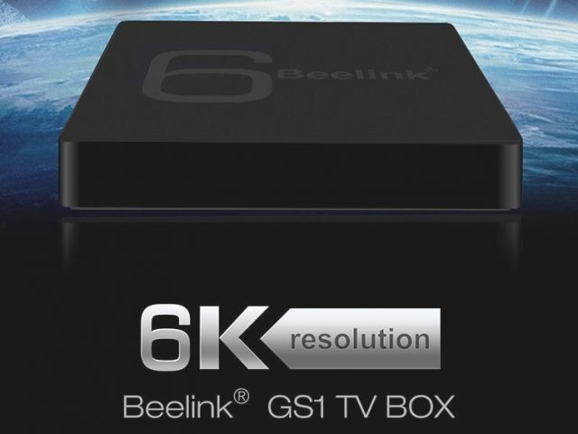 6K TV Box Beelink GS1
