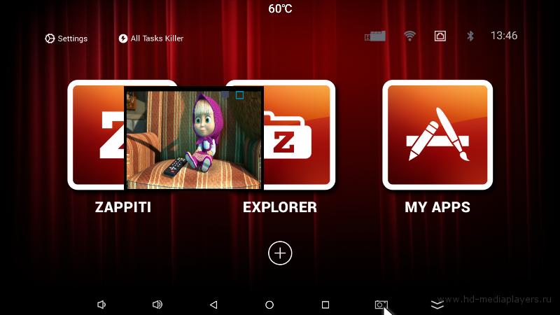Обзор медиаплеера Zappiti One 4k HDR