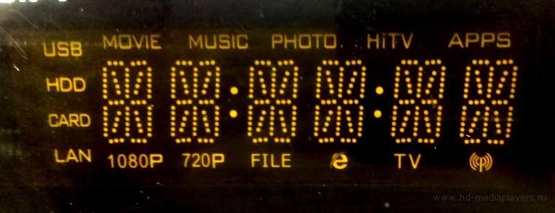 также на передней панели расположился ИК-приемник и светодиодный индикатор питания.