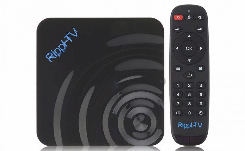 TV Box Rippl - TV