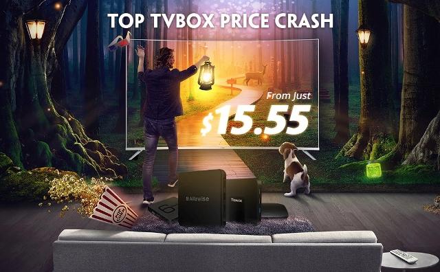 Распродажа ТВ боксов
