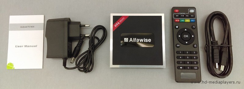 Обзор TV Box Alfawise H96 Mini